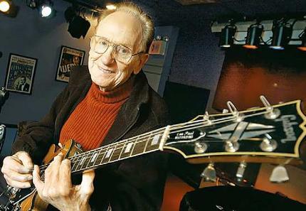 Les Paul, creador del famoso modelo de guitarra