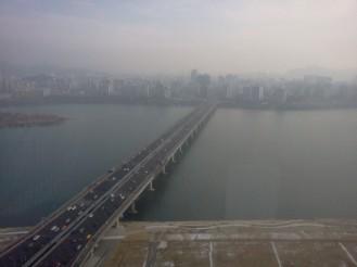 un puente desde las twin towers